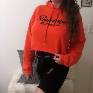 Forever 21 Tops - Babetown Cropped Hoodie